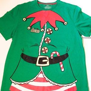 F&F Tshirt  Christmas Theme Santa Basic Tee